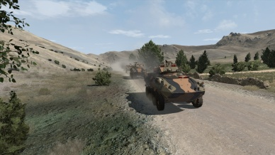 Screenshot 1 - ADF vehicle simulation
