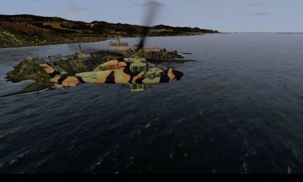 Screenshot 2 - ADF copter simulation