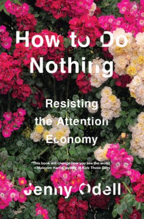 How To Do Nothing book cover
