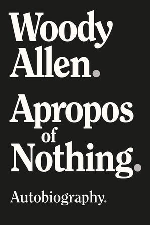Apropos of Nothing cover